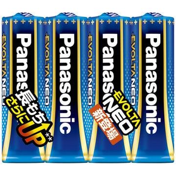 Panasonic 乾電池エボルタネオ 単3形 4本シュリンクパック LR6NJ/4SE