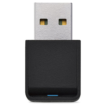 BUFFALO 11ac/n/a/g/b 433/150Mb USB2.0 WLAN子機 WI-U2-433DMS