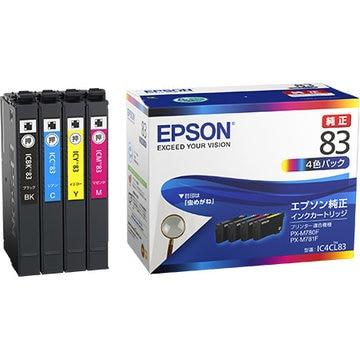 EPSON ビジネスインクジェット用 標準インク(4色パック) IC4CL83
