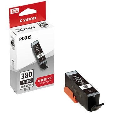 CANON インクタンク BCI-380XLPGBK ブラック(大容量) 2326C001