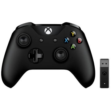 Xbox Controller + Wireless Adapter Win10