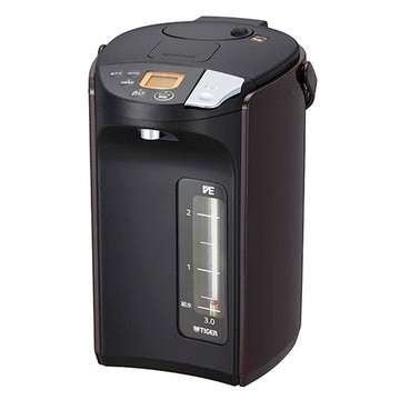 タイガー魔法瓶 蒸気レスVE電気まほうびん 3.0L ブラウン PIS-A300T
