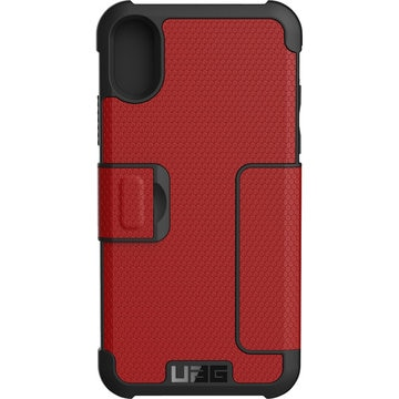 UAG iPhone X用 Metropolis ケース (マグマ)
