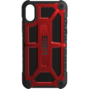 UAG iPhone X用 Monarch ケース (クリムゾン)