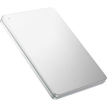 I-ODATA USB3.0対応ポータブルHDD 2TB Silver×Green HDPX-UTS2S