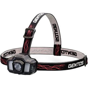 ジェントス LEDヘッドライト 200lm GD-200R