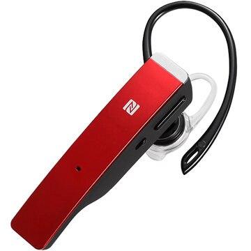 BUFFALO Bluetooth4.1 2マイクヘッドセット NFC対応 レッド BSHSBE500RD
