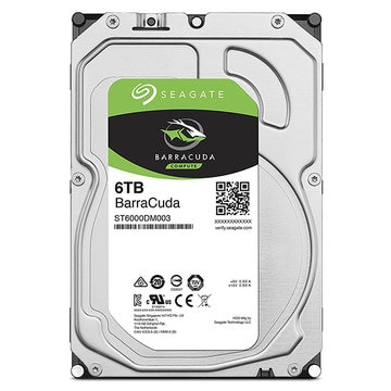 SEAGATE 3.5インチ内蔵HDD 6TB SATA6Gb 256MB ST6000DM003