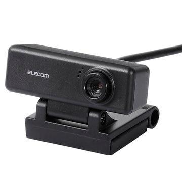 ELECOM PC Webカメラ/100万画素/マイク内蔵/ブラック UCAM-C310FBBK