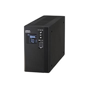OMRON UPS 常時商用(正弦波)/550VA/340W/縦型 BW55T