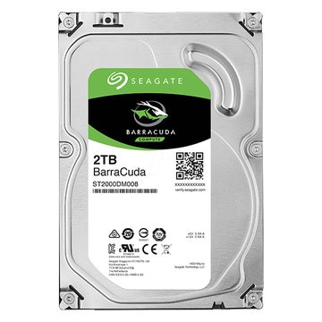 SEAGATE 3.5インチ内蔵HDD 2TB SATA6Gb 7.2K 256MB ST2000DM008