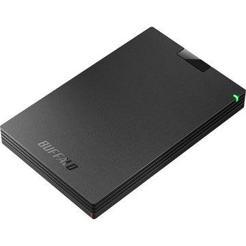 バッファロー USB3.1(Gen.1)対応 ポータブルHDD ブラック 1TB HD-PCG1.0U3-BBA