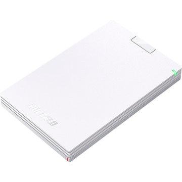バッファロー USB3.1(Gen.1)対応 ポータブルHDD ホワイト 1TB HD-PCG1.0U3-BWA