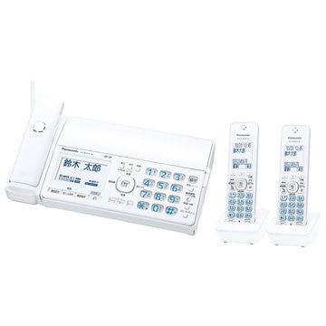Panasonic デジタルコードレスファクス(子機2)(ホワイト) KX-PD515DW-W