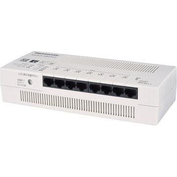 Panasonic 8ポート PoEスイッチ Switch-S8GPoE PN24088