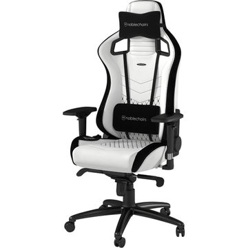 noblechairs EPIC ゲーミングチェア プレミアムホワイト