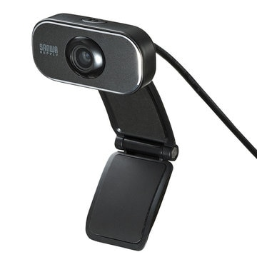 SANWASUPPLY WEBカメラ(フルHD対応・200万画素) CMS-V41BK
