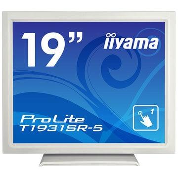 iiyama 19型タッチパネル液晶ディスプレイ T1931SR-5 ホワイト T1931SR-W5