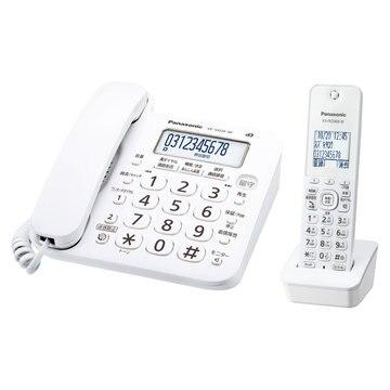 パナソニック(家電) コードレス電話機(子機1台)(ホワイト) VE-GD26DL-W