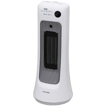 アイリスオーヤマ セラミックヒーター 首振り室温センサー JCH-12ST