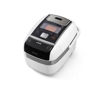 アイリスオーヤマ 銘柄量炊き圧力IHジャー炊飯器 3合 分離なし RC-PC30-W