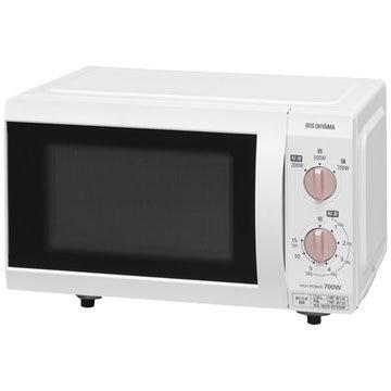 アイリスオーヤマ 電子レンジ 18L フラットテーブル 50Hz IMB-F184WPG-5