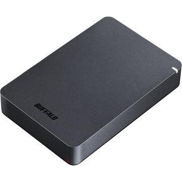 バッファロー USB3.1(Gen1) 耐衝撃ポータブルHDD 4TB ブラック HD-PGF4.0U3-GBKA