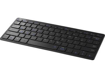 BUFFALO Bluetooth 3.0対応 コンパクトキーボード ブラック BSKBB310BK