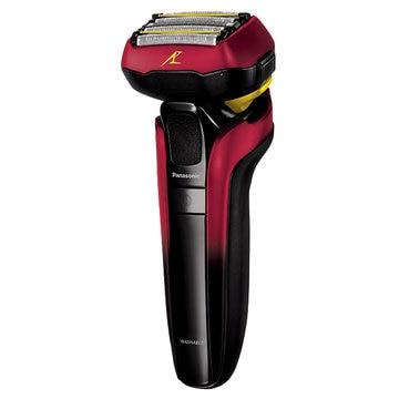 Panasonic メンズシェーバー ラムダッシュ (赤) 5枚刃 ES-LV5E-R
