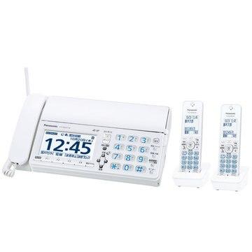 Panasonic デジタルコードレスファクス(子機2台)(ホワイト) KX-PD625DW-W