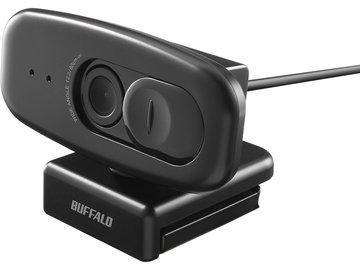 BUFFALO 200万画素WEBカメラ 広角120°マイク内蔵 ブラック BSW500MBK