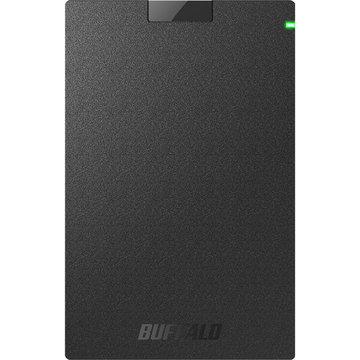 BUFFALO USB3.2(Gen1)対応ポータブルHDD 1TB ブラック HD-PGAC1U3-BA