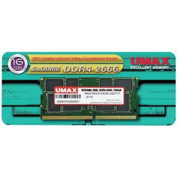 UMAX SO-DIMM DDR4-2666 16GB UM-SODDR4S-2666-16G