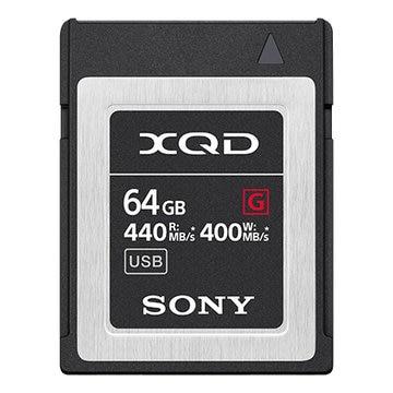 SONY XQDメモリーカード Gシリーズ 64GB QD-G64F