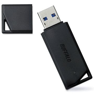 BUFFALO USB3.1(Gen1)メモリー バリューモデル 64GB ブラック RUF3-K64GB-BK
