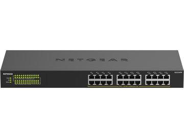 NETGEAR PoE+(380W) ギガ24ポートアンマネージスイッチ GS324PP GS324PP-100AJS