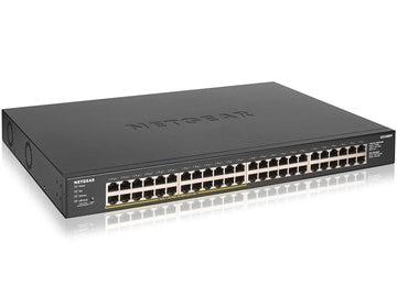 NETGEAR PoE+ ギガ48ポートアンマネージスイッチ GS348PP-100AJS