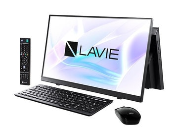 NEC LAVIE Home AiO - HA770/RAB ファインブラック PC-HA770RAB