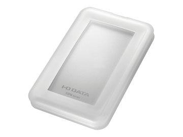 I-ODATA USB3.1 Gen2対応 ポータブルSSD 500GB ホワイト SSPB-USC500W