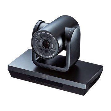 SANWASUPPLY 3倍ズーム搭載会議用カメラ CMS-V50BK