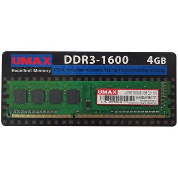 UMAX UDIMM DDR3-1600 4GB UM-DDR3S-1600-4GB