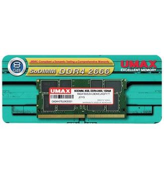 UMAX SO-DIMM DDR4-2666 8GB UM-SODDR4S-2666-8G