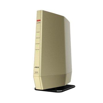 BUFFALO 無線LAN親機 4803+574Mbps ゴールド WSR-5400AX6/DCG