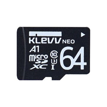 ESSENCORE KLevv microSDXCメモリーカード 64GB Class10 UHS-I U3 K064GUSD3U3-NJ