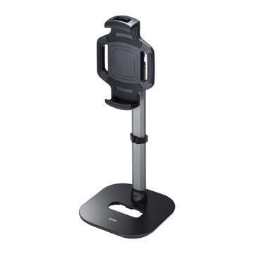 SANWASUPPLY タブレット用伸縮アームスタンド(高さ調節タイプ) PDA-STN39BK