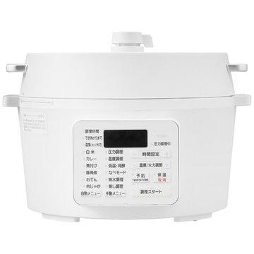 アイリスオーヤマ 電気圧力鍋 4.0L ホワイト PC-MA4-W
