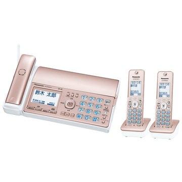 Panasonic デジタルコードレスファクス(子機2台)(ピンクゴールド) KX-PD525DW-N