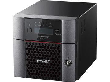 バッファロー WS IoT2019 Std搭載 2ベイデスクトップNAS 8TB WS5220DN08S9