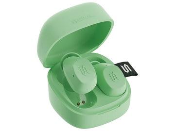 完全ワイヤレスイヤホン TWS S-Nano Lime 外音取込 防水 業界最小クラス