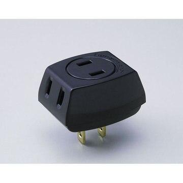 ELPA EDLPトリプルタップ ブラック LP-A1530(BK)